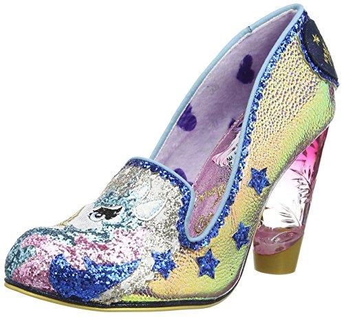 Closed Gold Choice Irregular Women's Gold Lady Toe Misty Heels WIx60vnA