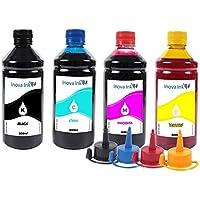 Kit 4 Tintas Para Epson Ecotank L3150 500ml Inova Ink