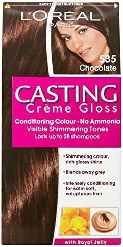 LOreal Crema de fundición de chocolate brillante 535