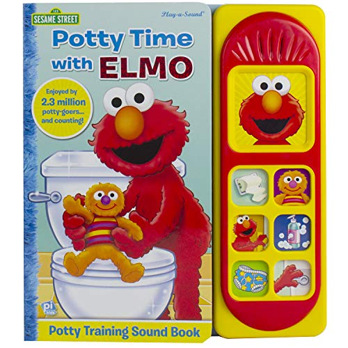 Sesame Street - Potty Time with Elmo - Potty Training Sound Book - PI Kids (Child Charts Training Bible)