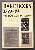 Rare Books, 1983-84, , 0835217566