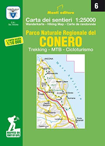 Cartina Conero Marche.Amazon It Parco Naturale Regionale Del Conero Trekking Mtb Cicloturismo Carta Dei Sentieri N 6 1 25 000 E Carta Dei Sentieri 1 10 000 Libri In Altre Lingue