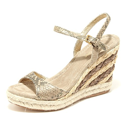 SHOE sandalo 42524 Oro women zeppa CAR donna scarpa shoes E4xwS1RqF