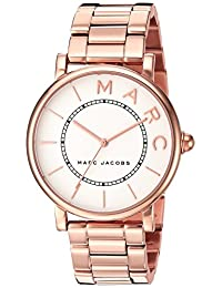Marc Jacobs Women's 'Roxy' Quartz Stainless Steel Casual Watch, Color:Rose Gold-Toned (Model: MJ3523)