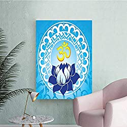 Wall Stickers for Living Room Spiritual Lotus Flow