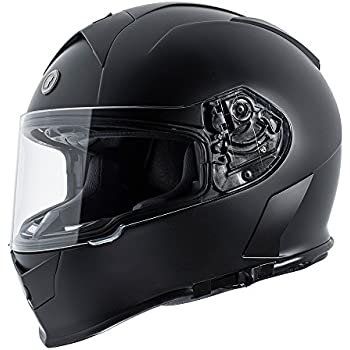 TORC T14 Mako Full Face Helmet (Flat Black, Large)