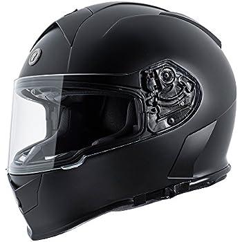 TORC T14 Mako Full Face Helmet (Flat Black, Large)