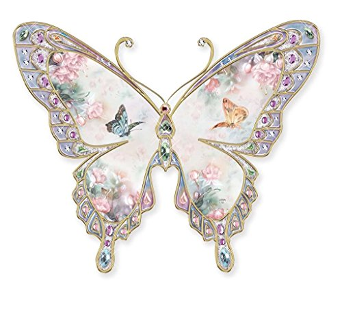 Lena Liu Garden (Lena Liu Winged Grace Heirloom Porcelain Butterfly Wall Plaque)
