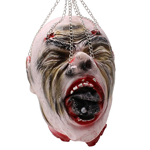 Halloween Supplies Hanging Kito New Tricky Toy House Bar Terror Props Scary Decoration Ornament (A) (Best Homemade Halloween Costumes)