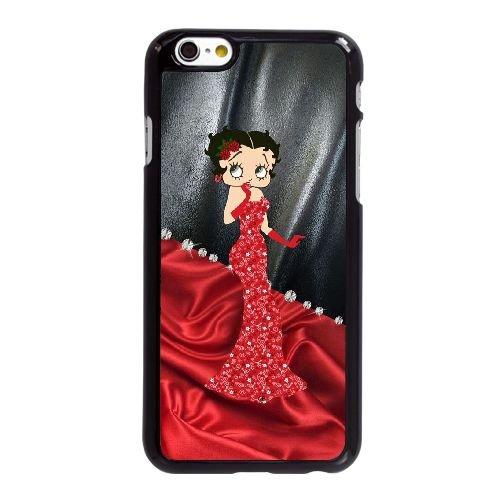Betty Boop K3Q19B3KI coque iPhone 6 6S Plus 5.5 Inch case coque black 61T2SH
