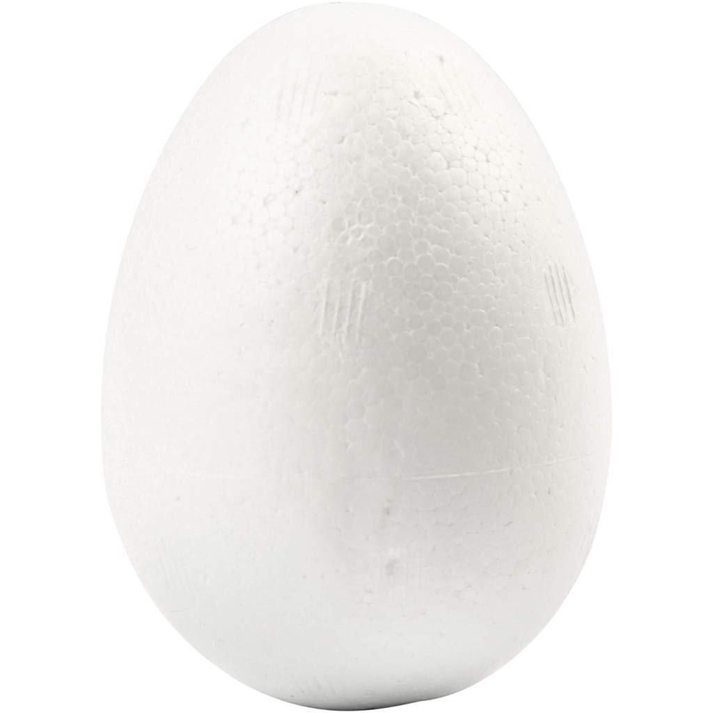Uova, H: 6 cm, polistirolo, 50pz Creativ Company
