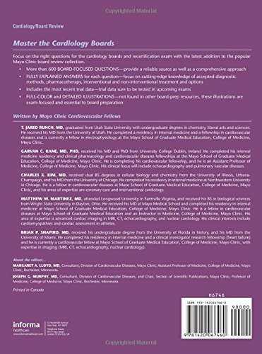 Mayo Clinic Cardiology: Board Review Questions and Answers - http://medicalbooks.filipinodoctors.org