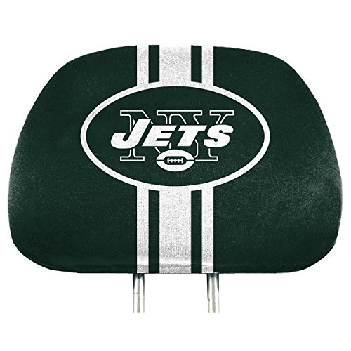 Ny Jets Cover - Team ProMark NFL New York Jets Full-Print Head Rest Covers, 2-Pack