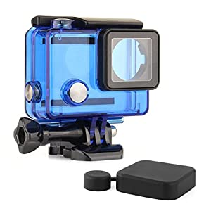 SOONSUN Waterproof Dive Housing Case GoPro Hero 4/3+ / 3 Black Silver Cameras