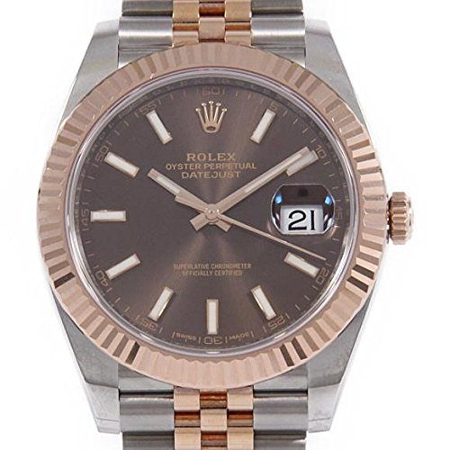 Rolex Datejust 41 mm 126331 18K Rose Gold/Stainless Steel Oyster Man's - Watches Rolex Rose Gold