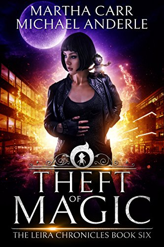 Theft of Magic: The Revelations of Oriceran (The Leira Chronicles Book 6)]()