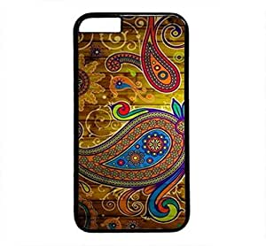 iPhone 4 4S Case, iCustomonline Aztec Pattern Stripe Designs Protective Hard Case for iPhone 4 4S Black