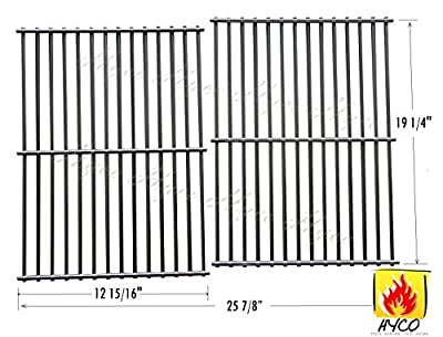 VICOOL W63SB Stainless Steel Wire Cooking Grid, Cooking Grate Replacement Select Gas Grill Models Jenn-Air, Nexgrill Others, hy563S2, Set of 2
