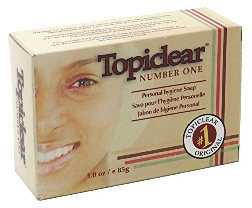 Topiclear Number One Soap 3 Ounce Boxed (88ml) (3 Pack)