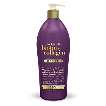 is ogx biotin and collagen shampoo sulfate free