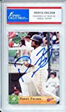 Prince Fielder 2003 Multi Ad Sports Milwaukee Brewers Autographed Trading Card - Certified Authentic