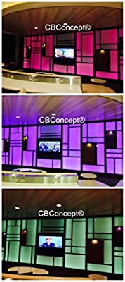 CBConcept 100 Feet 120 Volt High Output LED SMD5050 LED Strip