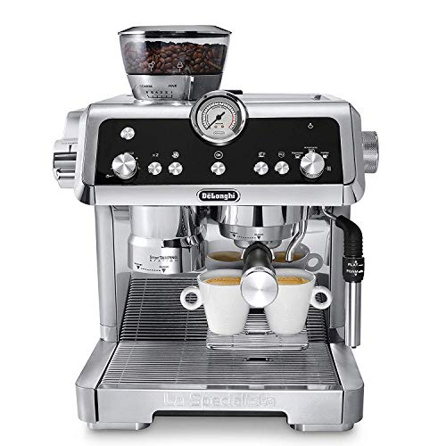 Delonghi La Specialista EC9335.M Advanced Latte System Automatic Espresso Machine w/Sensor Grinding Technology & Smart Tamping Station