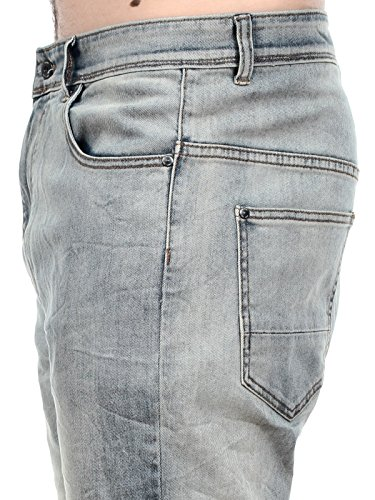 Globe Jeans Select Lo Slung Light Blau Tinted