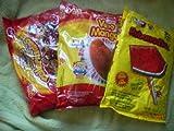 3pack Vero Revanadita(Watermelon) Mango and Rellerindo Mexican Candy by Vero