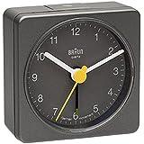 Braun Square Analog Travel Alarm Clock