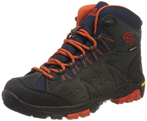 amp; Wanderstiefel Kids Trekking Mount Bruetting Anthrazit Bona Orange Erwachsene High Unisex Grau Xw8pq0B7