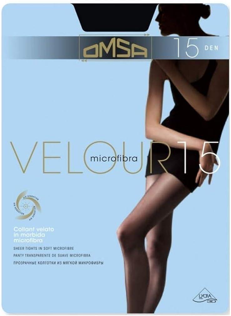 Omsa Velour 15 Collant Microfibra 15den