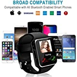 Smart Watch Phone Touchscreen,Bluetooth Smartwatch con Camera,Smart Orologio,Impermeabile Orologio Intelligente con SIM Card Fessura per Android Samaung ios Apple Iphone X 8 Donna Uomini Uomo