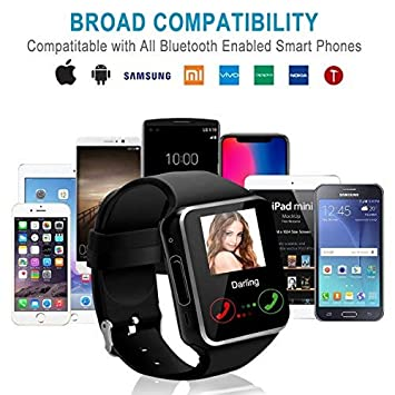 ... smart watch Pantalla táctil,Reloj inteligente hombre,impermeable Smartwatches Compatible Android IOS iphone X 8 7 6 5 Plus Samsung Huawei para Hombre ...