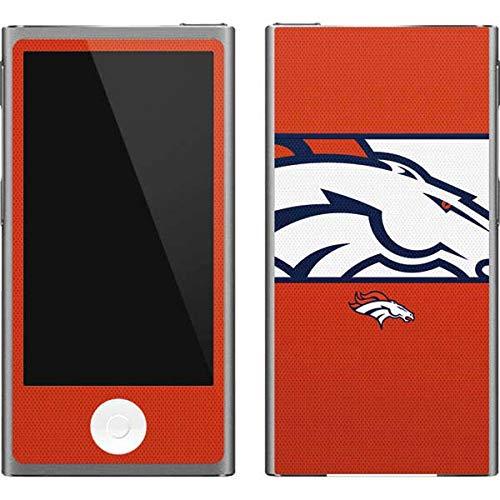 Skinit NFL Denver Broncos iPod Nano (7th Gen&2012) Skin - Denver Broncos Zone Block Design - Ultra Thin, Lightweight Vinyl Decal Protection - Denver Broncos Nfl Nano