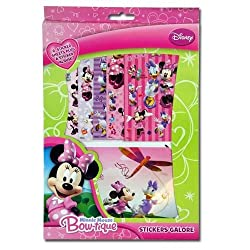 Minnie Mouse Bow-tique Stickers Galore