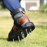 TACKLIFE Lawn Aerator Shoes, Aerating Lawn Soil