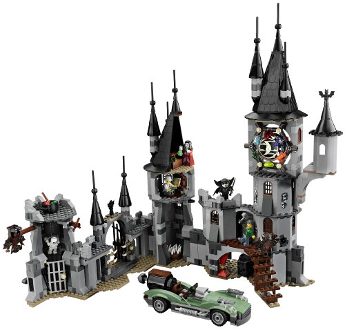Amazon.com: LEGO Monster Fighters Vampyre Castle 9468 ...