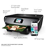 HP Envy Photo 7155 All in One Photo Printer Wireless Printing, Instant Ink Ready (K7G93A)