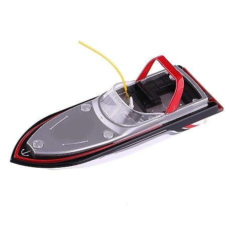 RC Lancha Rápida, 27MHz / 40MHz Plástico Control Remoto Barco de Carreras de Velocidad Modelo