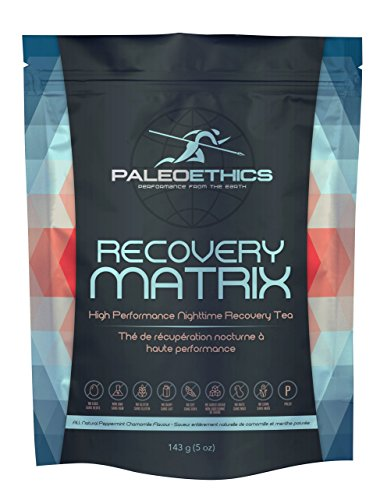 PALEOETHICS Recovery Matrix Protein Powder, Peppermint Chamomile, 143 Gram