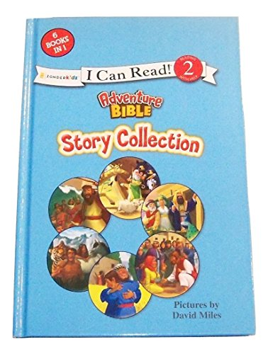 I Can Read Educational Series! Adventure Bible Story Collection (2014; Level 2, Reading with Help; 6 Books in 1)