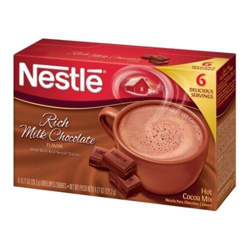 Nestle Rich Milk Chocolate Hot Cocoa Mix, 4.27 Ounce - 12 per case.