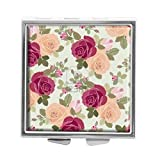 RUNDO Vintage flower Custom Personalized Pill box Wallet Travel Kit Vitamin Decorative Box Protection Box