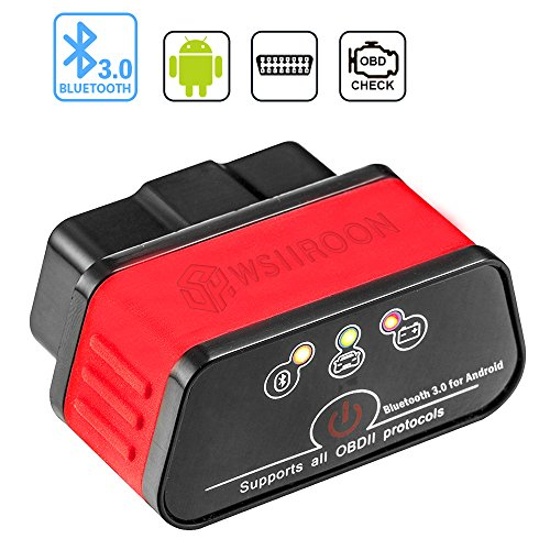 wsiiroon Bluetooth 3.0 OBD2 Scanner