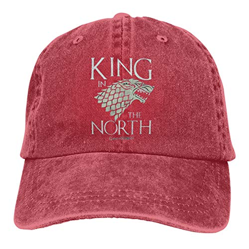 HOT tv Game of Thrones House Stark Badge Jeans hat for Men&Women Red