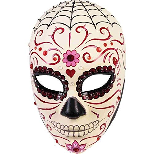 Day Of The Dead Mask For Sale - Forum Novelties 76089 Unisex-Adults Day of