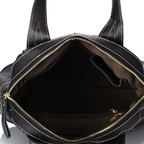 bl Handle 141450 Top Leather Handbag Genuine aretha Satchel Cowhide XwU1nTq8