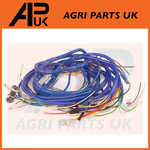 APUK Wire Wiring Harness Loom Dynamo Type compatible with Ford 2000 3000 4000 4100 Tractor: