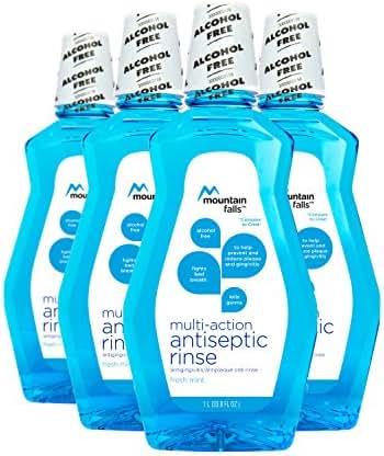 Mouthwash: Mountain Falls Multi-Action Antiseptic Rinse